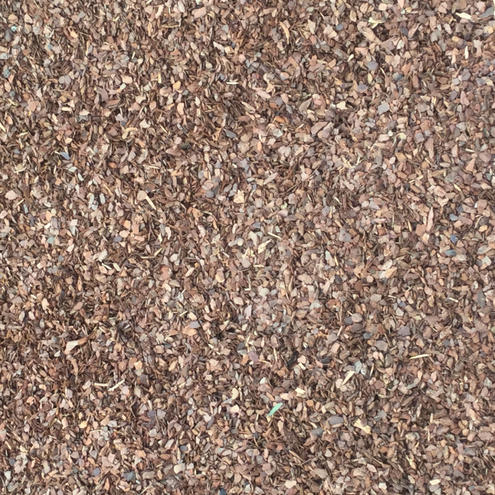 Soft fall bark 5 10mm mulch cobble patch for Soft landscape materials
